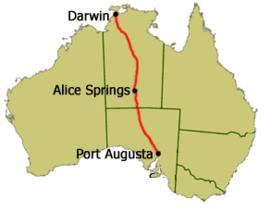 A87 Stuart Highway(Australia)