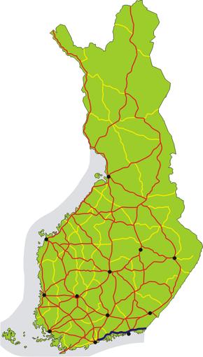 Finnish National Road 7 (Finland)