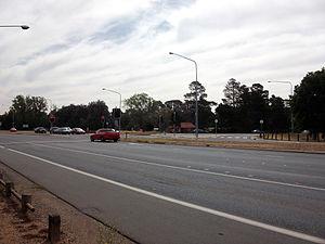 A25 Barton Highway (Australia)