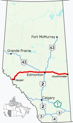 Alberta Highway 16 (Canada)