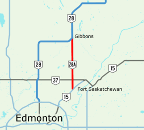 Alberta Highway 28A (Canada)