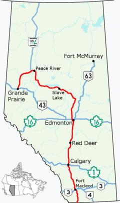 Alberta Highway 2 (Canada)