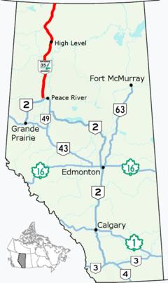 Alberta Highway 35 (Canada)
