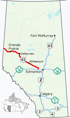 Alberta Highway 43 (Canada)