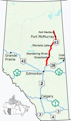 Alberta Highway 63 (Canada)