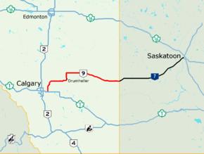 Alberta Highway 9 (Canada)