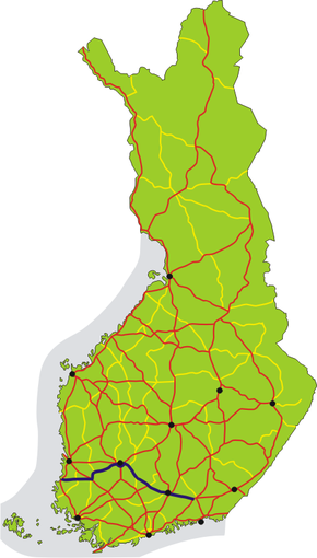 Finnish National Road 12 (Finland)