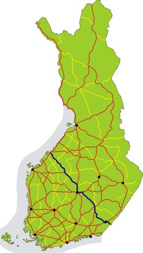 Finnish National Road 13 (Finland)