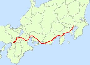 Japan National Route 1 (Japan)