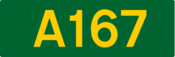 A167 road (United Kingdom)