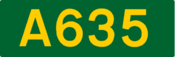 A635 road (United Kingdom)