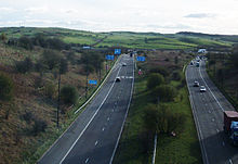 A627(M) motorway (United Kingdom)