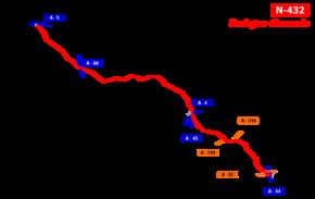 N-432 road (Spain)
