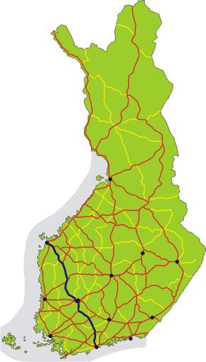 Finnish National Road 3 (Finland)