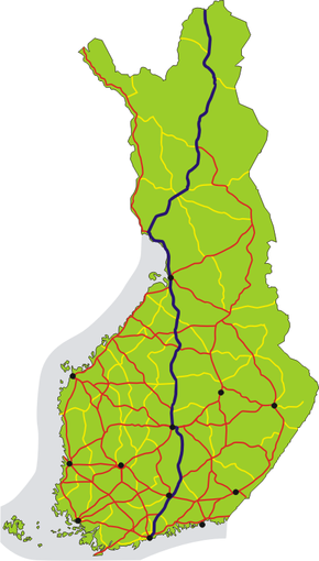 Finnish National Road 4 (Finland)