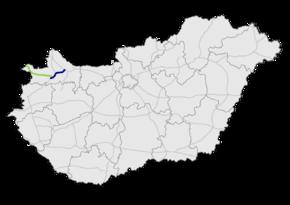 M85 expressway (Hungary)