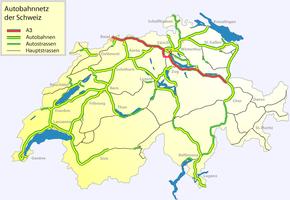 A3 motorway (Switzerland)