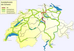 A4 motorway (Switzerland)